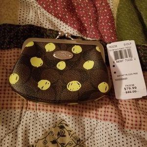 Nwt coach coin purse FINAL PRICE